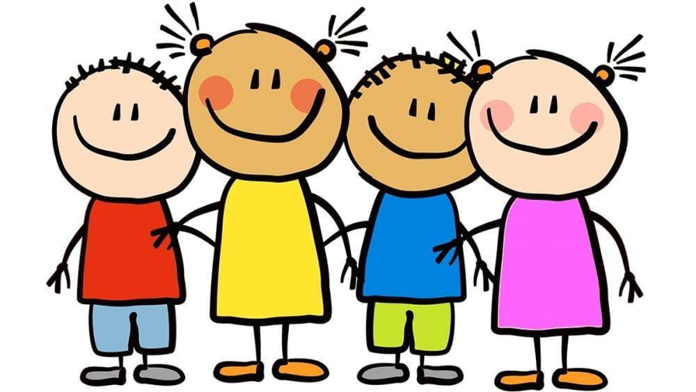 Anak-anak yang harus selalu gembira