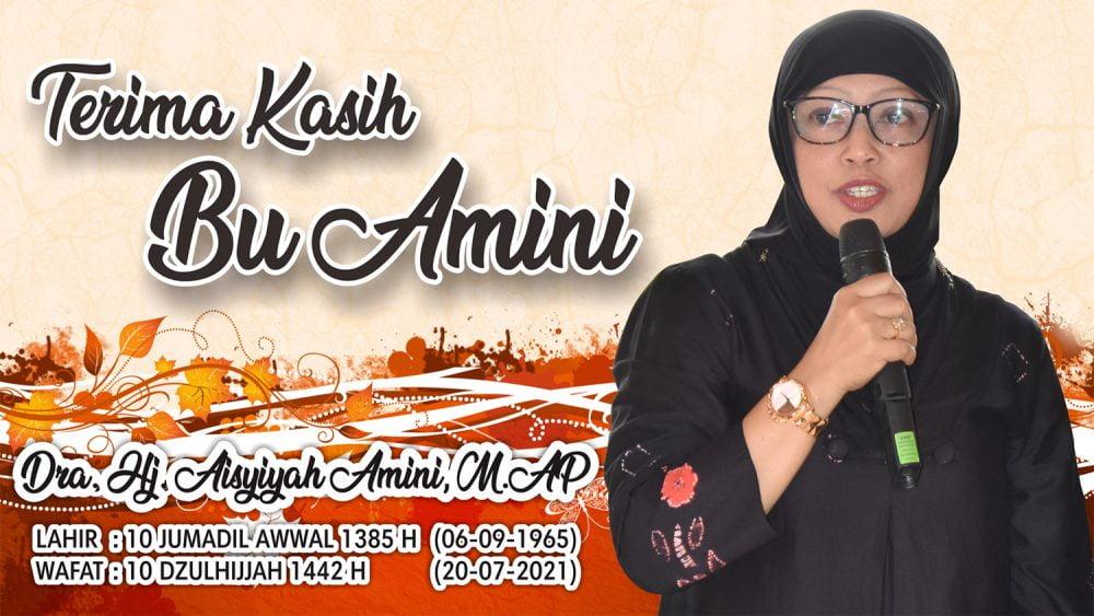 Terima kasih, Bu Aisyiyah Amini.